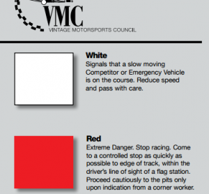 New red and black flag procedure