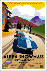 Aspen Snowmass Vintage Car Race, September 2017
